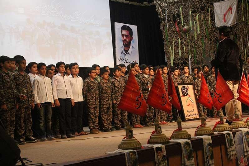 تصویر از یادواره شهدای مدافع حرم و شهیدان بفروئیه برگزار شد