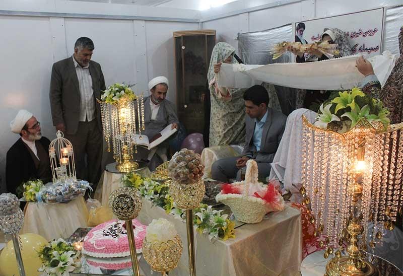 Photo of بقاع متبرکه میزبان برگزاری عقد ازدواج جوانان در استان یزد