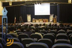 تصاویری از مراسم تودیع و معارفه رئیس دانشکده علوم قرآنی بفروئیه میبد