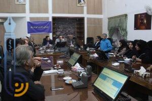 تصاویری از اولین نشست شورای راهبردی خوشه زیلو در میبد