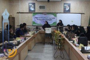تصاویری از برگزاری کارگاه تربیت مربی طرح مشارکت اجتماعی دانش آموزان استان یزد (ماد) در میبد