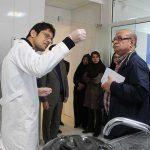 بازدید مسئولین کشوری و استانی ازمرکز تحقیقات ژنتیک میبد