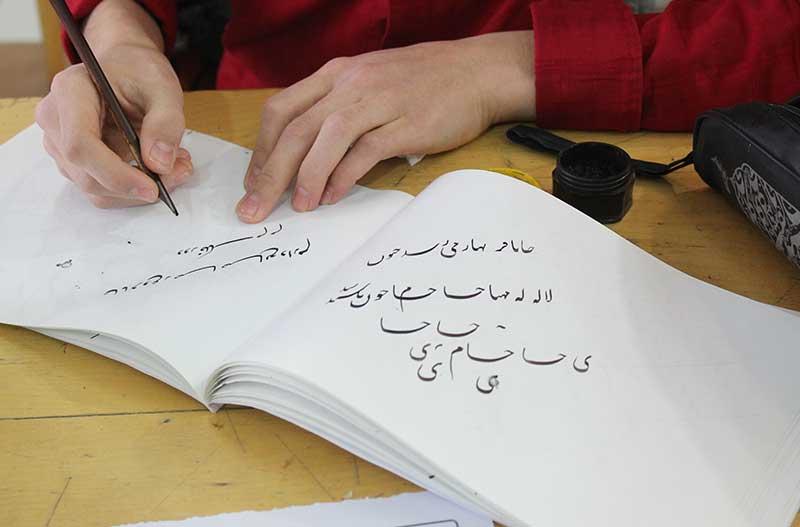Photo of خوشنویسی هنری تحول یافته در میبد است