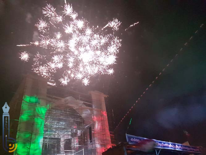 Photo of مراسم جشن با شکوه چهلمین سالگرد انقلاب اسلامی در میبد برگزار شد