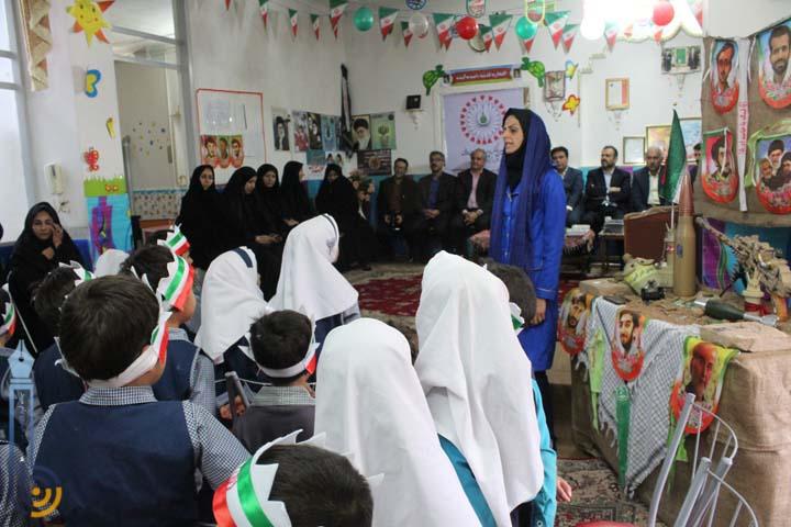 افتتاح دو مهد کودک در ایام الله دهه فجر در میبد