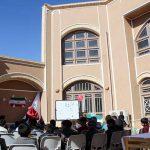 چهل دانش آموز در جشن چهل سالگی انقلاب پذیرایی شدند