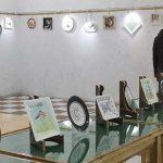 نخستین نمایشگاه گروهی تصویرسازی و نقاشی در میبد گشایش یافت