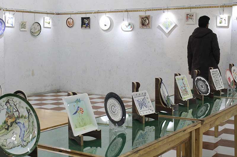 تصویر از نخستین نمایشگاه گروهی تصویرسازی و نقاشی در میبد گشایش یافت