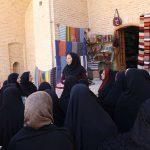 ۴۰ بانوی فعال مهریز از مراکز اشتغال و کارآفرینی میبد بازدید کردند