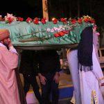 مراسم نمادین تشییع جنازه حضرت فاطمه (س) در میبد برگزار شد