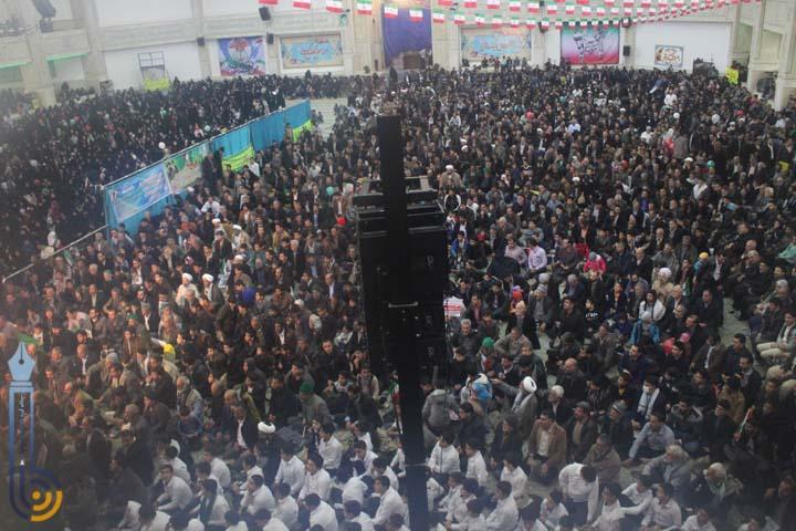Photo of مراسم با شکوه راهپیمایی ۲۲ بهمن در شهرستان میبد/تصاویر