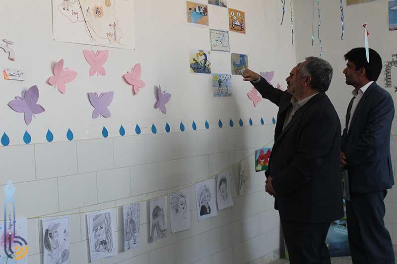 Photo of جشنواره غذا و آثار هنری در دبیرستان قدس میبد  برگزار شد
