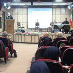 شب خواجه ابوالفضل رشیدالدین میبدی در دانشگاه میبد برگزار شد