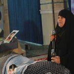 یادمان شهدا و زنان ایثارگر در میبد برگزار شد