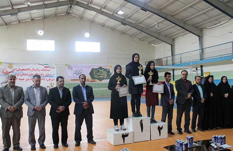 Photo of مسابقات والیبال دانشجویی استان یزد در میبد برگزار شد