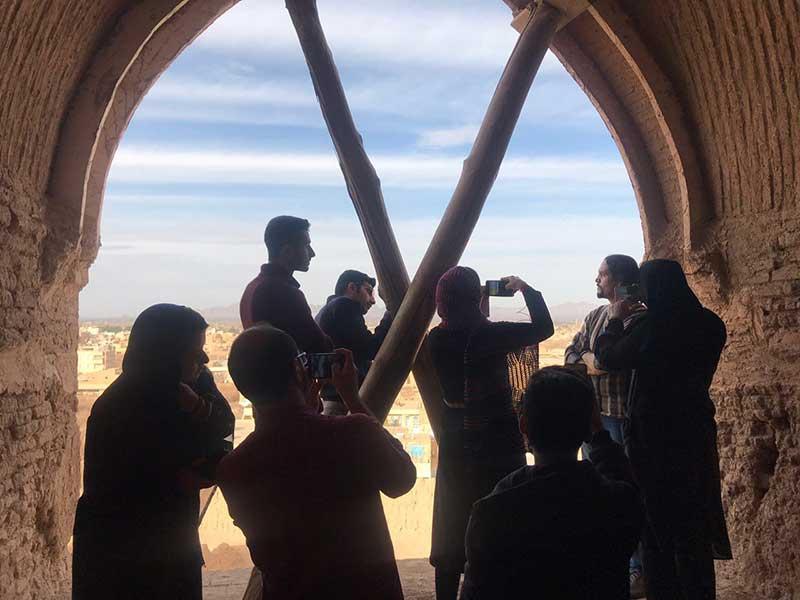 کارگاه آموزشی عکاسی با تلفن همراه در میبد برگزار شد