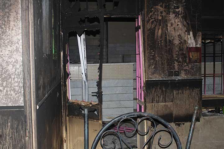 تصویر از انفجار گاز مرگ مادر و دو فرزندش را موجب شد/تصاویر