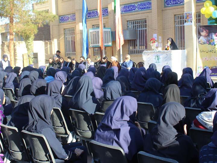 Photo of برگزاری مراسم جشن نیکوکاری در دبیرستان فاطمیه میبد /تصاویر