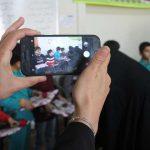 ادای احترام به سالمندان در مرکز توانبخشی حبیب بن مظاهرمیبد