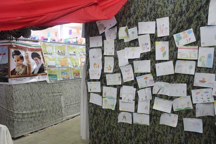 نمایشگاه بهار علوی در میبد
