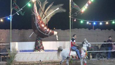 Photo of چهارمین همایش سوارکاری حسینیه شهدای دشت کربلای میبد برگزار شد/ تصاویر