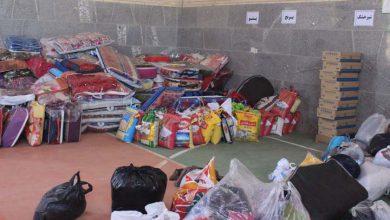 کمک های مردمی میبد به مناطق سیل زده