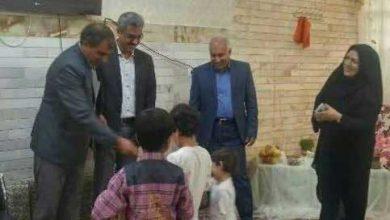تصویر از دیدار عیدانه مسئولین بهزیستی با کودکان بی سرپرست و بدسرپرست