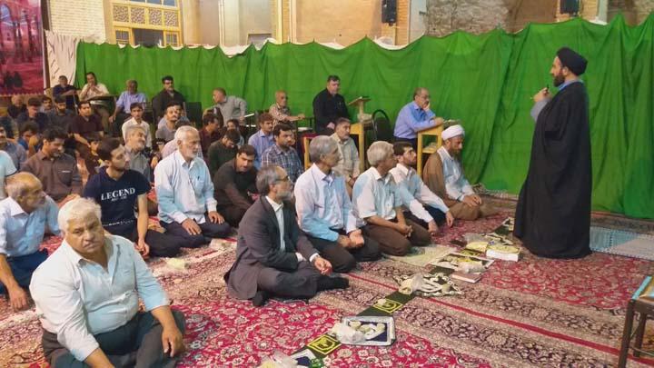 پیگیری مشکلات مسجد جامع میبد