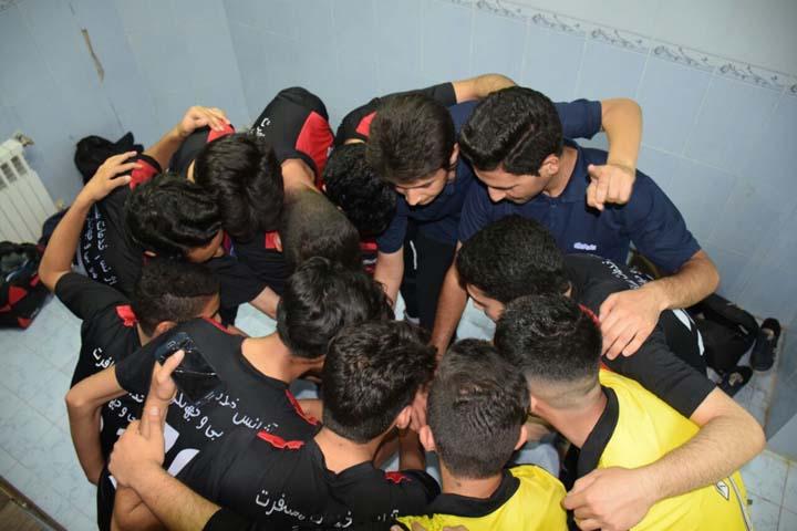 مسابقات فوتسال جام رمضان در میبد