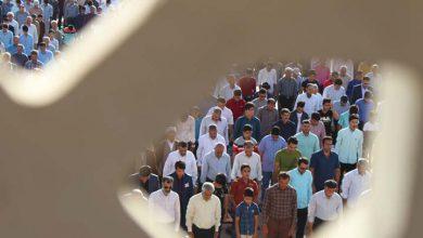 تصویر از تصاویری از برگزاری نمازعید سعید فطر در میبد