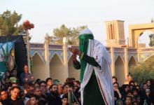 Photo of مراسم تعزیهخوانی در امامزاده سید صدرالدین قنبر میبد برگزارشد/ تصاویر