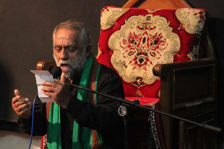 برگزاری مراسم شیرخوارگان در مجمع الذاکرین میبد