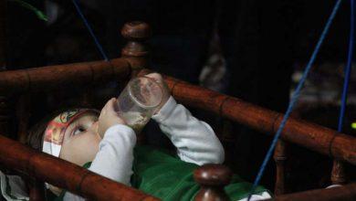 تصویر از تصاویری از برگزاری مراسم شیرخوارگان در مجمع الذاکرین میبد/بخش دوم