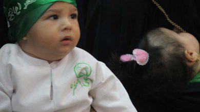 تصویر از همایش شیرخوارگان حسینی درمیبد برگزارشد