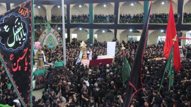 تصویر از مراسم عزاداری عاشورای حسینی در حسینیه بزرگ فیروزآباد میبد