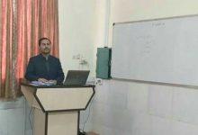 Photo of اولین دانشجوی دکتری  دانشگاه آزاد اسلامی میبد از رساله خود دفاع کرد.