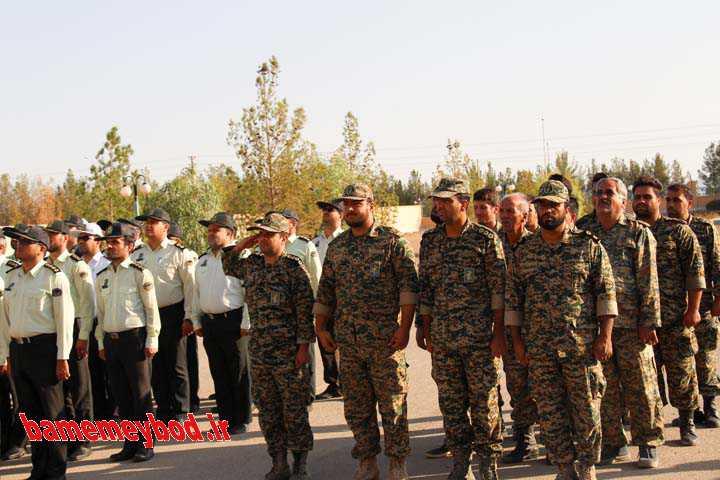 صبحگاه نیروهای انتظامی