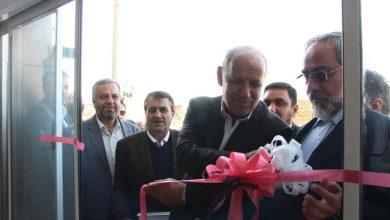 تصویر از یک واحد تولیدی کاشی در میبد افتتاح شد