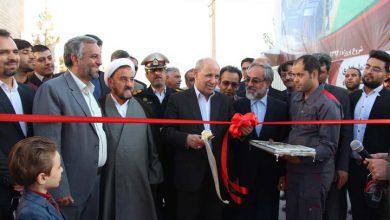 تصویر از یک واحد نیروگاهی در میبد افتتاح شد