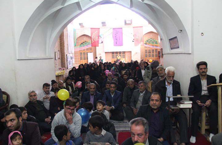 Photo of برگزاری جشن میلاد در مسجد جامع میبد