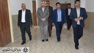 Photo of بازدید قائم مقام وزیر علوم از مرکز علمی کاربردی واگذار شده به دانشگاه میبد