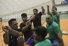 Photo of مسابقه والیبال نشسته معلولین در میبد برگزار شد