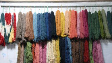 تصویر از یک واحد رنگرزی سنتی در میبد افتتاح شد
