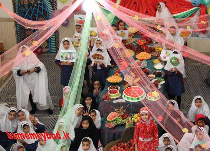 شب یلدای مهدوی و قرآنی در مدرسه مهر ایران زمین