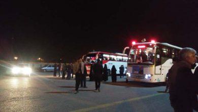 تصویر از یک هزار میبدی برای مراسم تشییع سردار سلیمانی به کرمان اعزام شدند