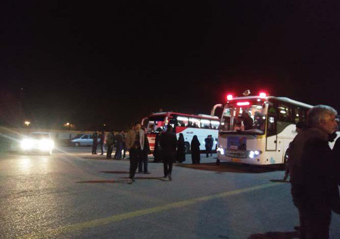 اعزام 17 دستگاه اتوبوس به کرمان