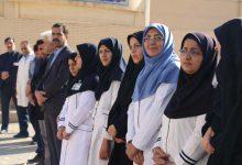 Photo of دانش آموزان میبدی مقام پرستاران را گرامی داشتند