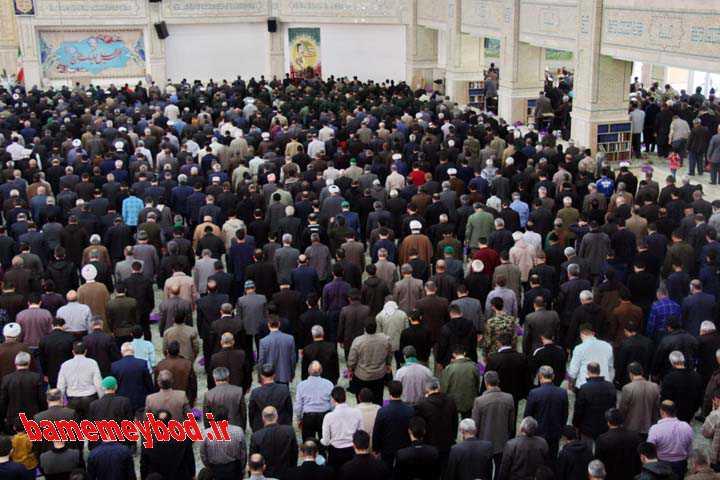 نماز جمعه و راهپیمایی