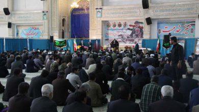 Photo of مراسم گرامیداشت سردار آسمانی در میبد برگزار شد