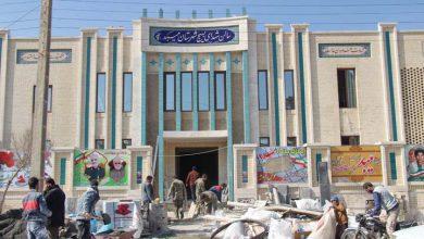 تصویر از سالن شهدای بسیج میبد میزبان شهید گمنام است